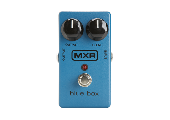 Blue Distortion Box Audio Amature Housewives