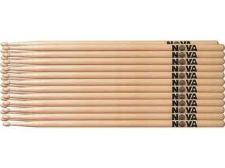 Vic Firth NOVA 5A Drum Sticks 12 Pair Brick