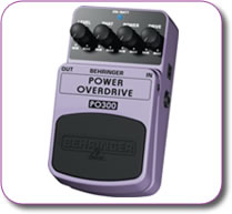 Behringer Power Overdrive PO300 Pedal Stomp