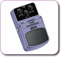 Behringer Tube Overdrive TO100 Pedal Stomp
