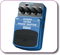 Behringer Ultra Phase Shifter UP100 Pedal Stomp