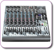 Behringer XENYX 1622 FX Mixer + USB Interface + Multi FX