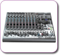 Behringer XENYX 1832 FX Mixer + USB Interface + Multi FX