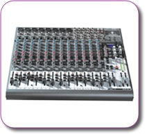 Behringer XENYX 2222 FX Mixer + USB Interface + Multi FX