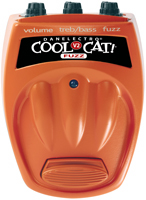 Danelectro Cool Cat V2 Fuzz Guitar Pedal Stomp Box