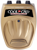 Danelectro Cool Cat V2 Transparent Overdrive Guitar Pedal Stomp Box