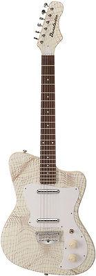 danelectro dg67cr dano 67 heaven electric guitar alligator creme finish new. Black Bedroom Furniture Sets. Home Design Ideas