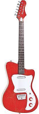 danelectro dg67rd dano 67 heaven electric guitar alligator red finish new. Black Bedroom Furniture Sets. Home Design Ideas