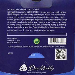 Dean Markley Blue Steel 10-47 Extra Light Acoustic Guitar Strings 2032