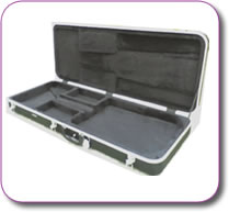 Deluxe ABS Bass Guitar Flight Case