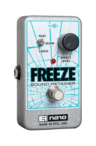 electro harmonix freeze sound retainer guitar pedal stomp box. Black Bedroom Furniture Sets. Home Design Ideas