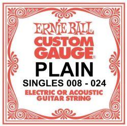 All Gauges  .024 Ernie Ball COBALT Guitar Strings .068 SINGLE STRING PACKS