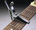 KYSER Quick Change Capo KGEB For Electric Guitars