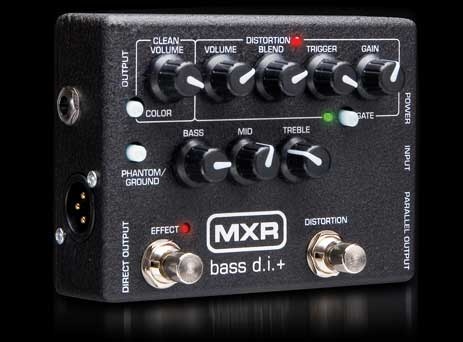 mxr m 80 bass di guitar pedal stomp box. Black Bedroom Furniture Sets. Home Design Ideas
