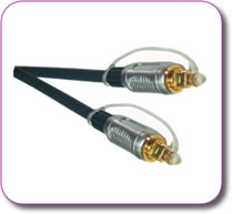 Professional Fibre Optic Toslink Cable 2 metres