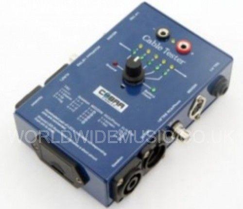 Soundlab Ct02 Cable Tester Xlr Jack Speakon Phono Din